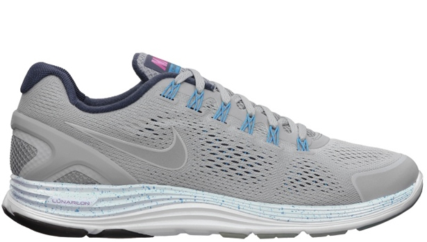 Nike LunarGlide+ 4 NRG Wolf Grey/Metallic Silver-Blue Tint