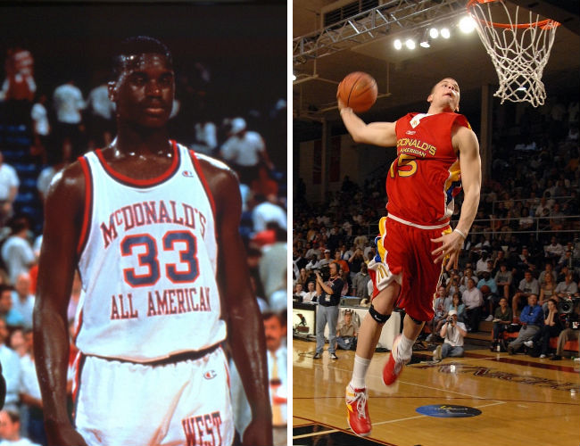 huge selection of 6d4f5 f018c 10 Interesting Facts About The McDonald's All American Game ...