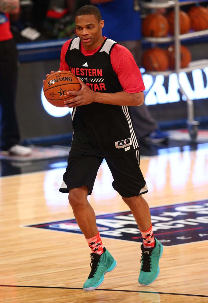 Every Sneaker Worn in the 2015 NBA All-Star Practice ...