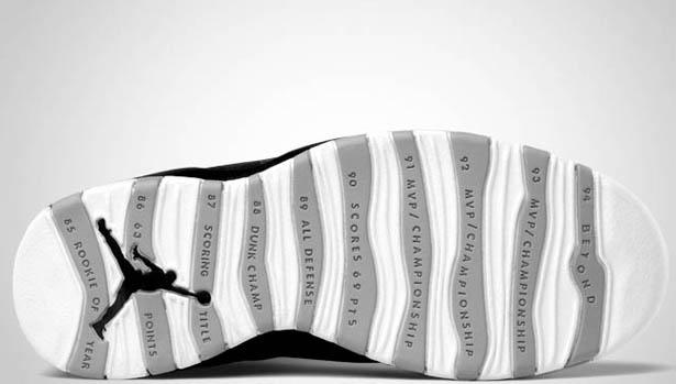 timeless design ee8b5 05bb1 Air Jordan 10 Retro - Black White-Stealth - Official Images