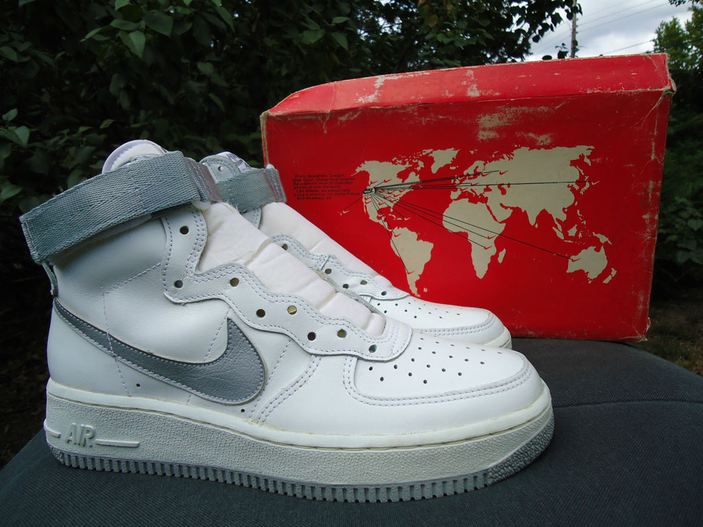 The Top 10 Strapped Sneakers of All-Time: Nike Air Force 1 Hi