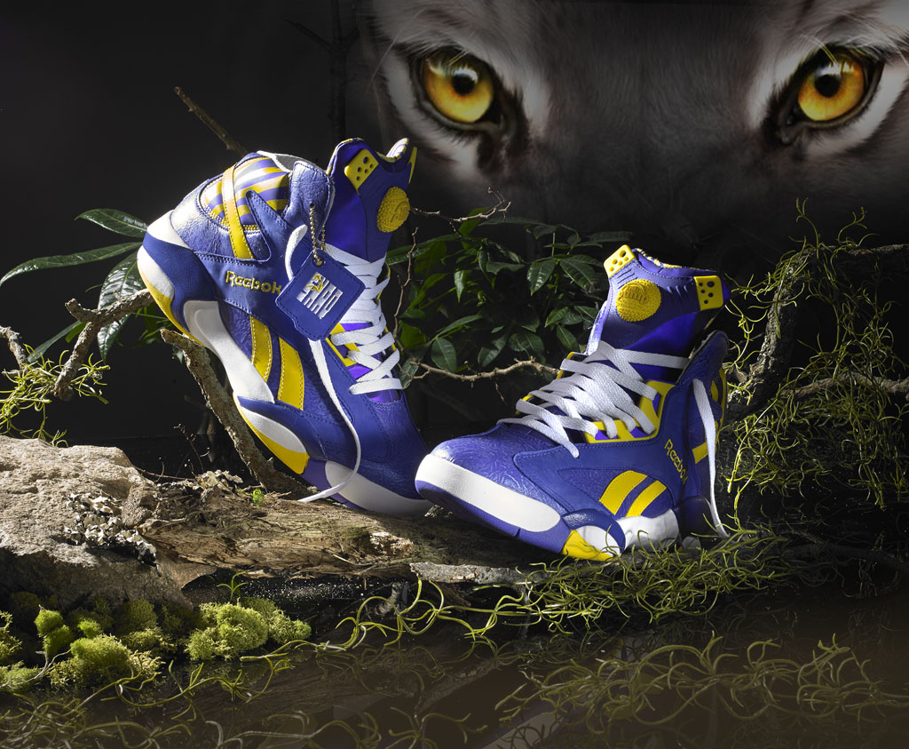 Reebok Shaq Attaq LSU Tigers (2)
