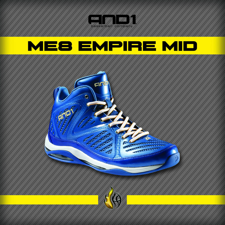 And1 ME8 Empire Mid Monta Ellis Signature Shoe