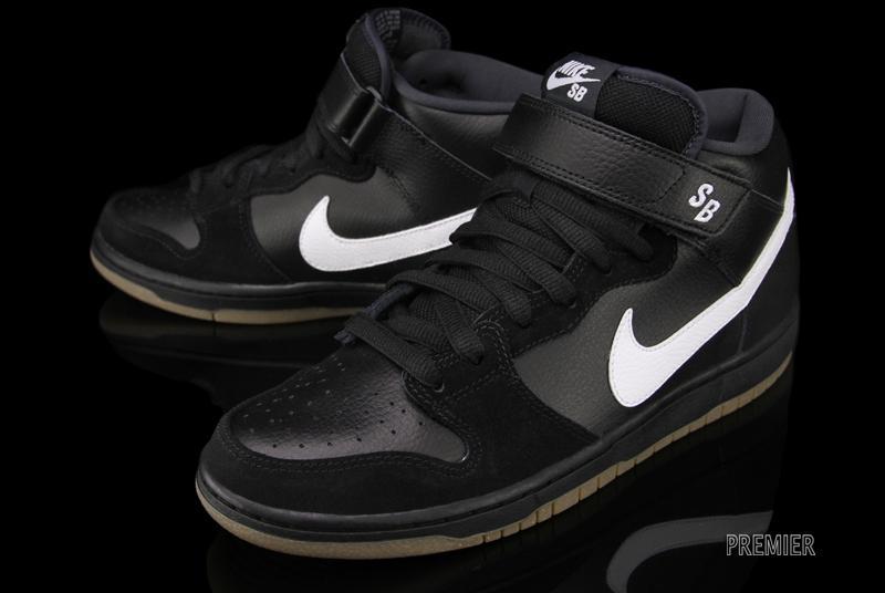 Nike Sb Dunk Mid Pro Black