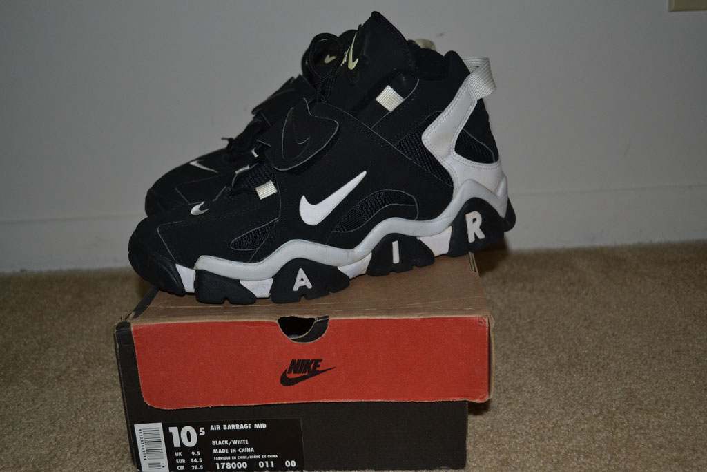 Pickups of the Week // Nike Air Barrage by PenguinDoctor