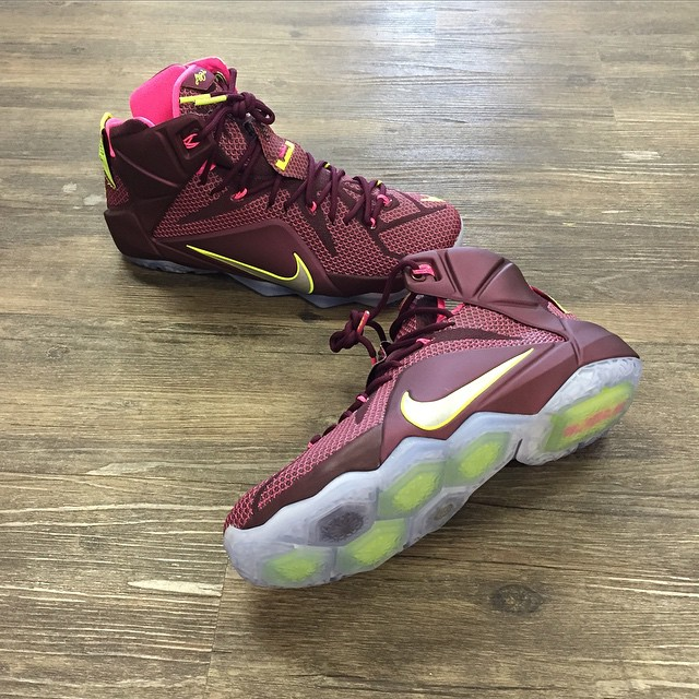 new concept 6b58b cbaf2 The 'Double Helix' Nike LeBron 12 Will Make You Do a Double Take ...