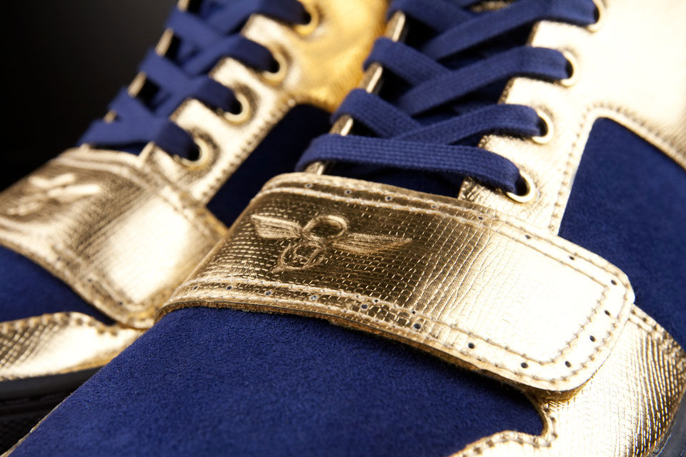 Creative Recreation Metallic Collection Cesario X Indigo Gold (4)