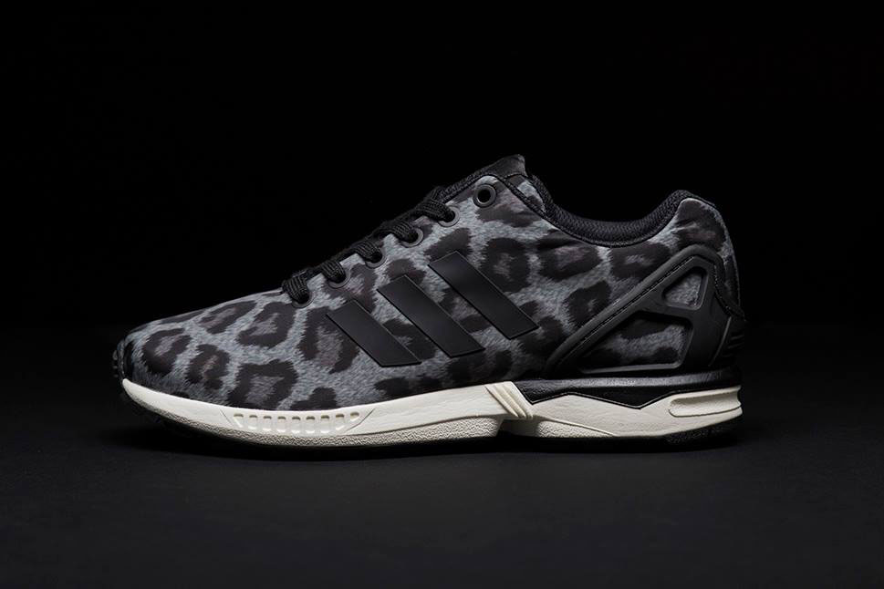adidas Originals ZX Flux Pattern Pack Exclusive for Sneakersnstuff - Snow Leopard (2)