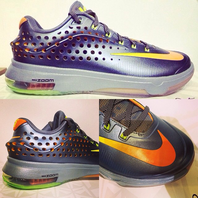 Nike KD VII 7 Elite Chaos Sample