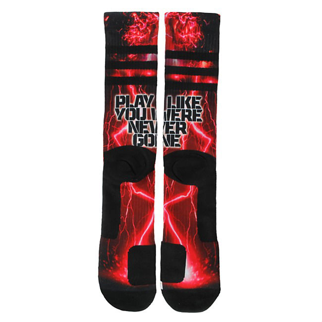 Robert Griffin III RG3 New Play Like You Were Never Gone Socks (3)