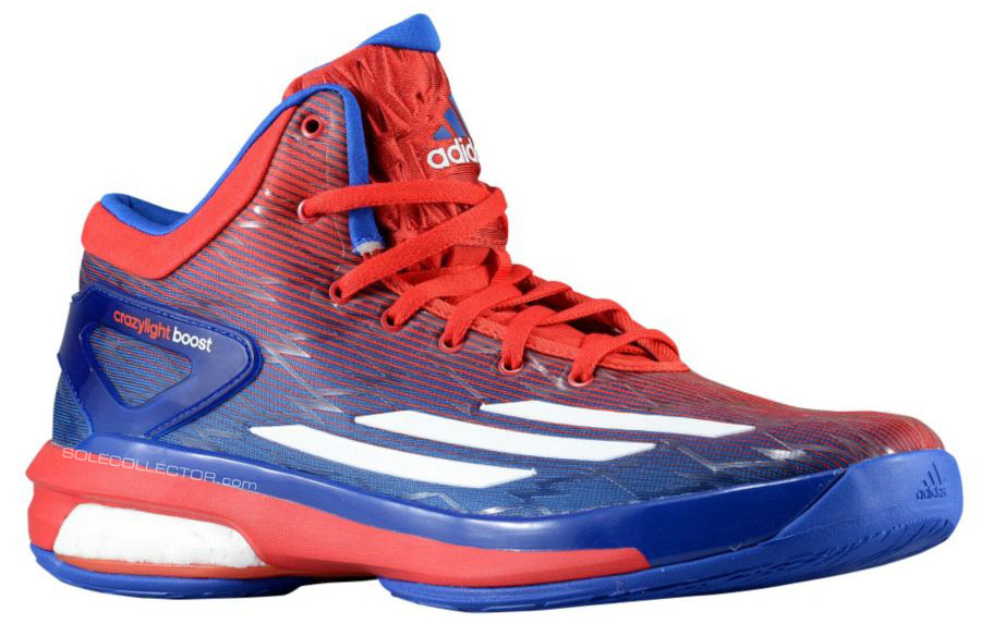 adidas Crazylight Boost NCAA Kansas Jayhawks