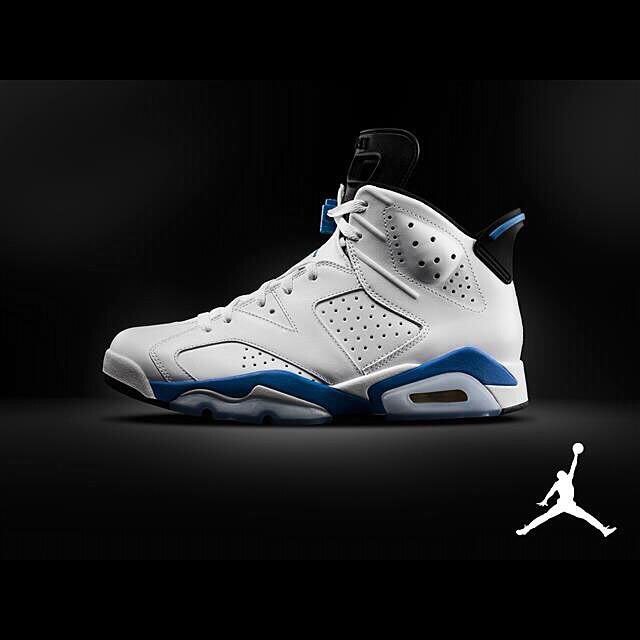 Air Jordan VI 6 Retro Sport Blue