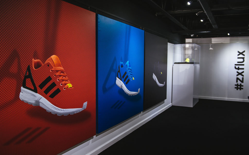 adidas ZX Flux Installation at BAIT | Sole Collector  zu verkaufen