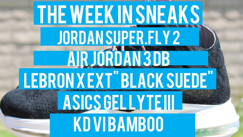 The Week In Sneaks with Jacques Slade : July 20, 2013