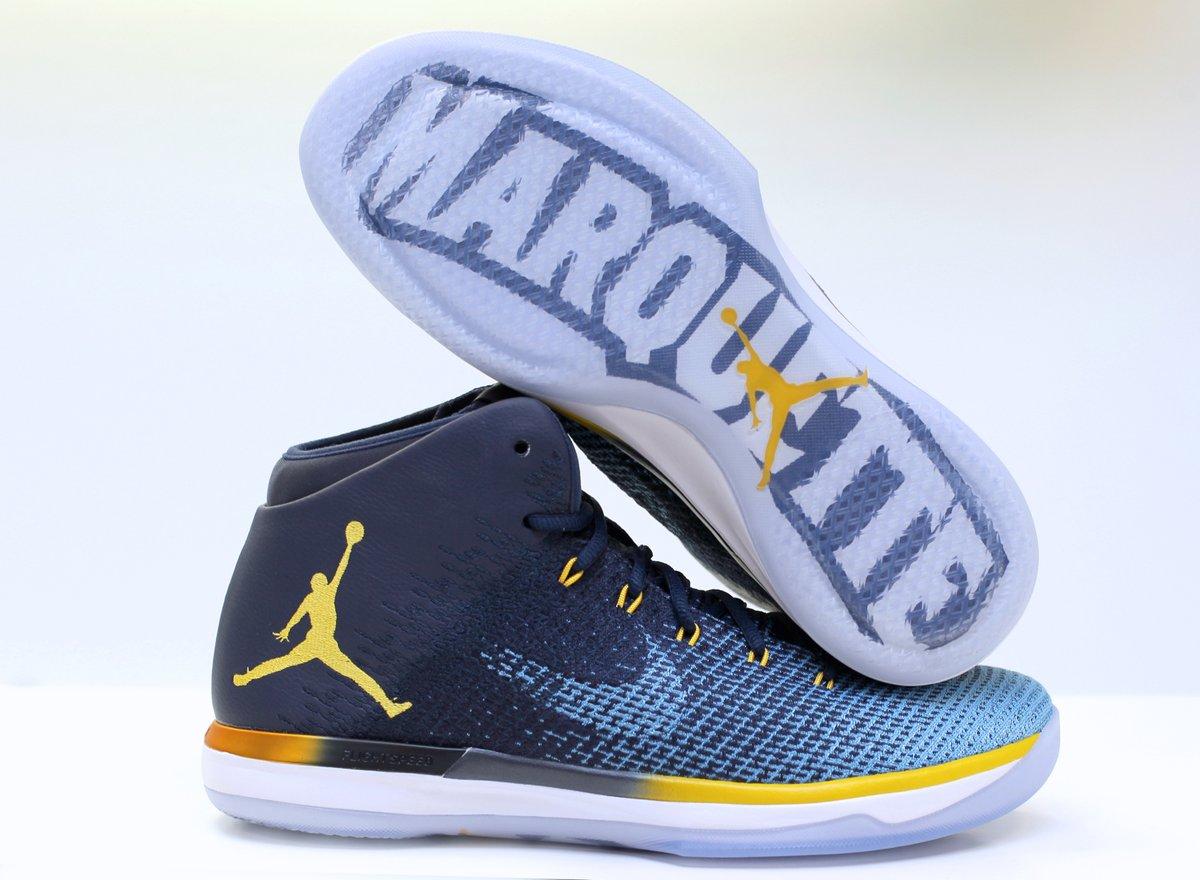buy popular 05712 62606 Air Jordan 31 Marquette PE Sole