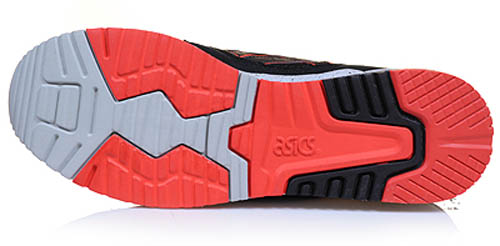 ASICS GEL-Lyte III - Black/Infrared/Cement 3