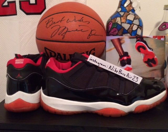 d8bd82fc036188 Michael Jordan s  Bred  Air Jordan 11 Low PE from 1996 Hits eBay ...