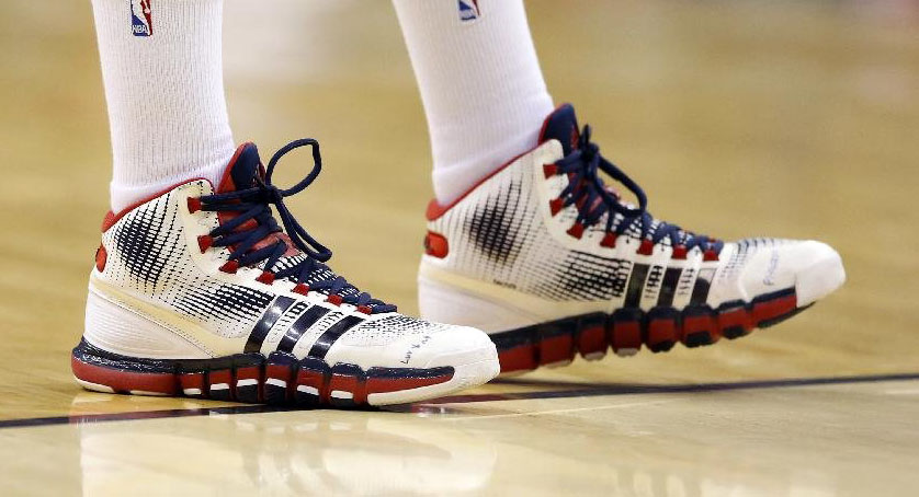 John Wall wearing adidas Crazyquick PE