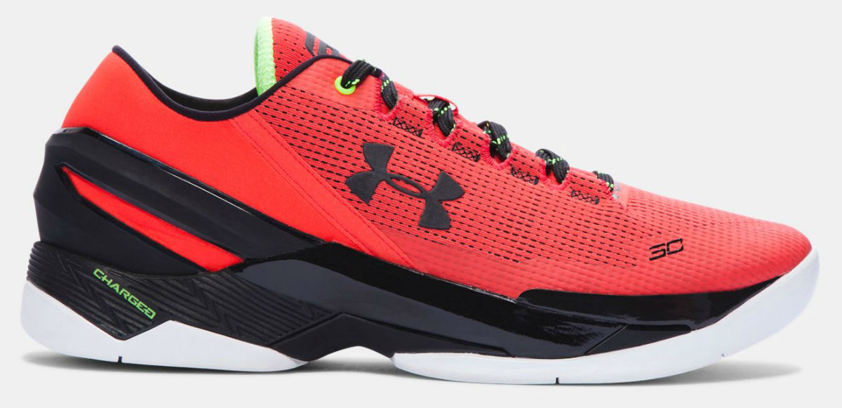 bcbb1b754ce7 Under Armour Curry Two Low Rocket Red 1264001-984 (1)