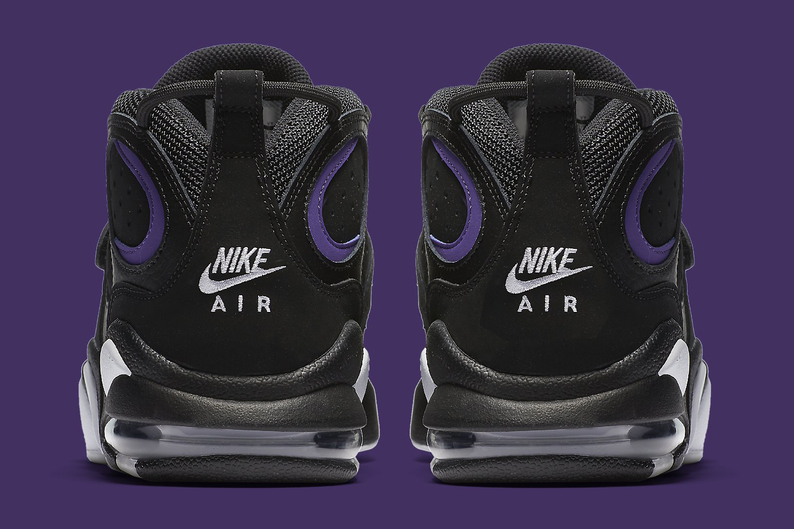 Nike Air CB 34 Black Purple Heel