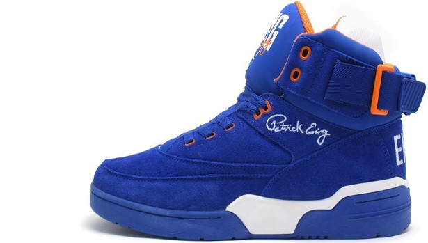 Ewing Athletics Ewing 33 Hi Blue/Orange-White