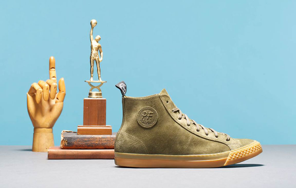 Todd Snyder x PF Flyers Rambler Olive