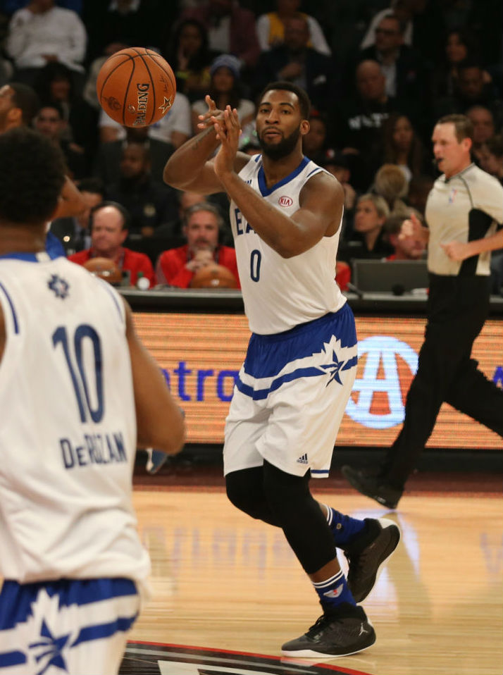 Andre Drummond Wearing the Jordan Rising High (1)