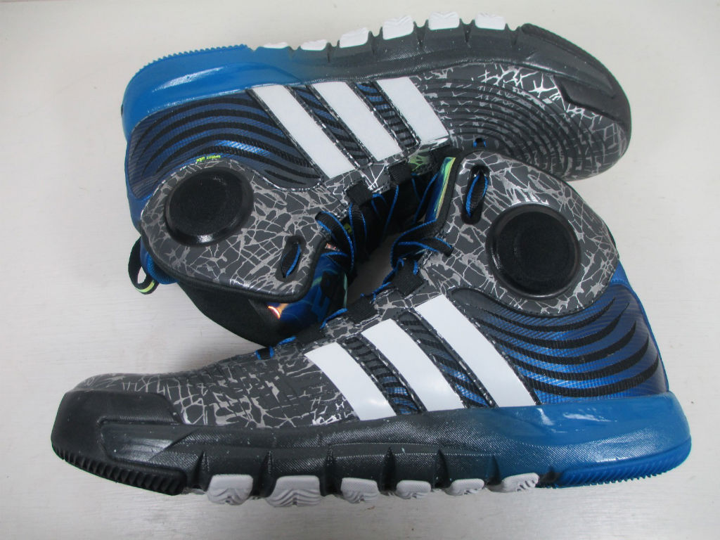 adidas D Howard 4 - Grey/Blue Sample (5)