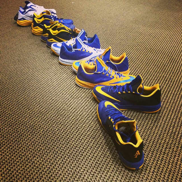 Andre Iguodala's Nike PE Lineup for the New Season