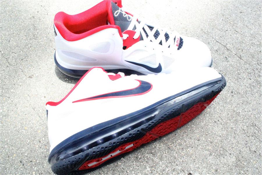 premium selection c22ed 114d2 ... White Obsidian-University Red  150.00. Nike LeBron 9 Low USA 510811-101  (2)