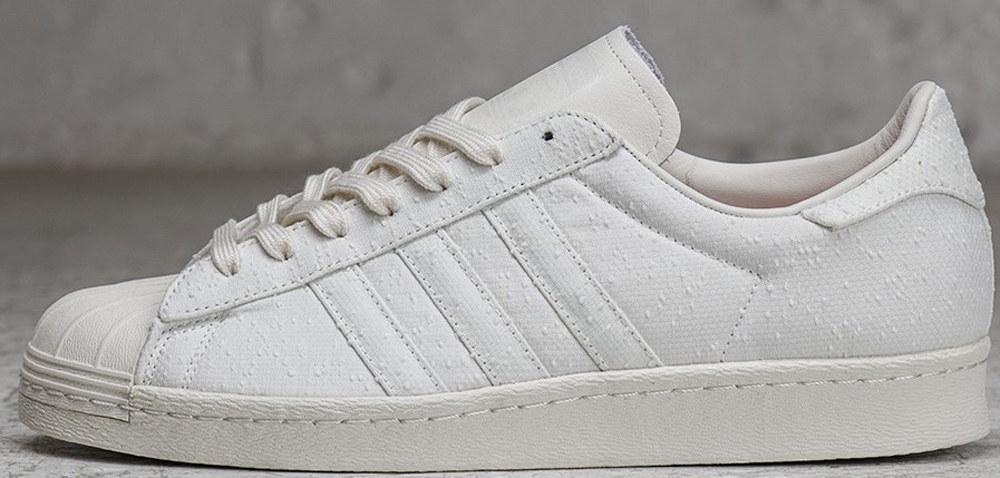 adidas Superstar White/White