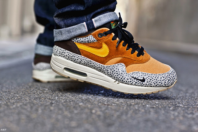Air Max 1 Safari On Feet leoncamier.co.uk