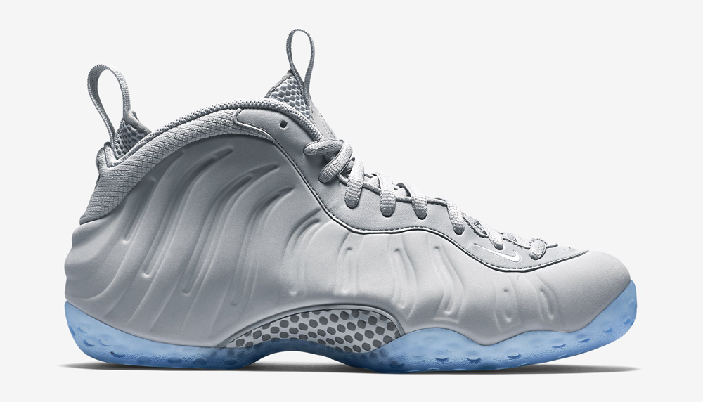 "buy online 2fa55 a12d3 2015 Nike Air Foamposite One PRM ""Grey Suede"" Wolf Grey-White For Sale The  Grey  Suede  Nike Foamposites Are Releasing Soon ."