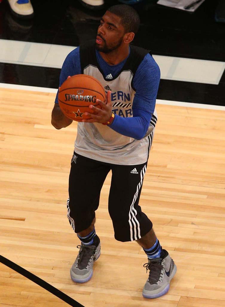 Every Sneaker Worn In The 2015 NBA All Star Practice