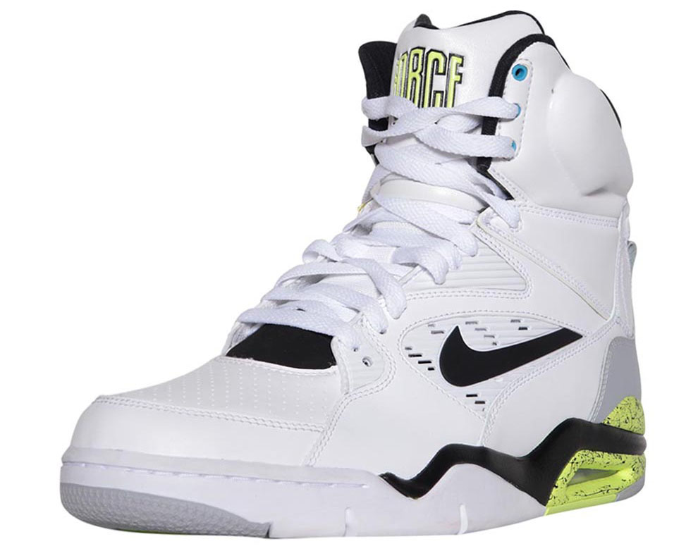 Nike Air Command Force White/Wolf Grey-Volt-Black Billy Hoyle Release Date 684715-100 (3)