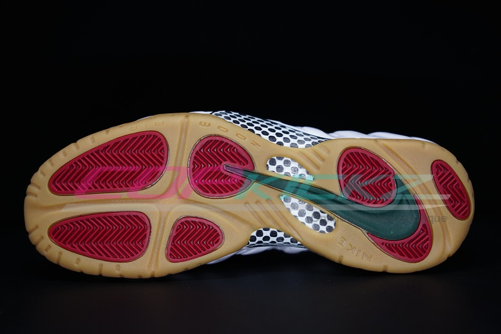 Nike Air Foamposite Pro 'White/Gum