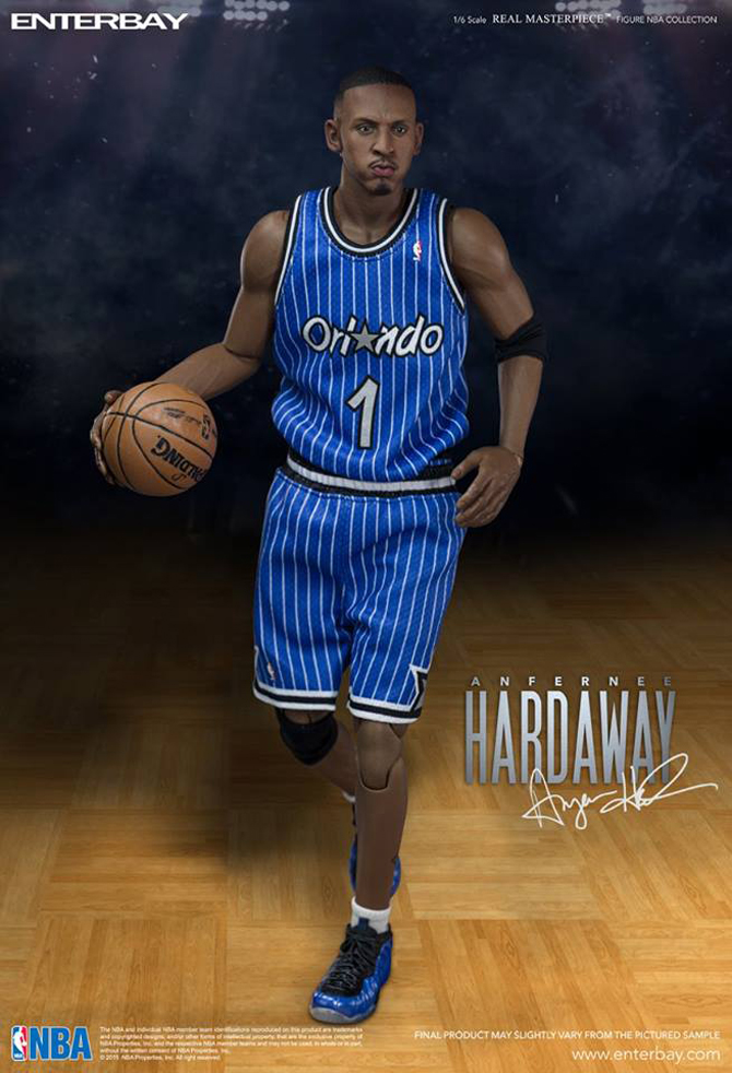This Penny Hardaway Action Figure Comes With Incredibly Detailed Sneakers