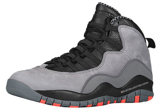 new concept 5b29f 2c562 Air Jordan 10 X Retro Cool Grey Infrared Black Release Date 310805-023 (