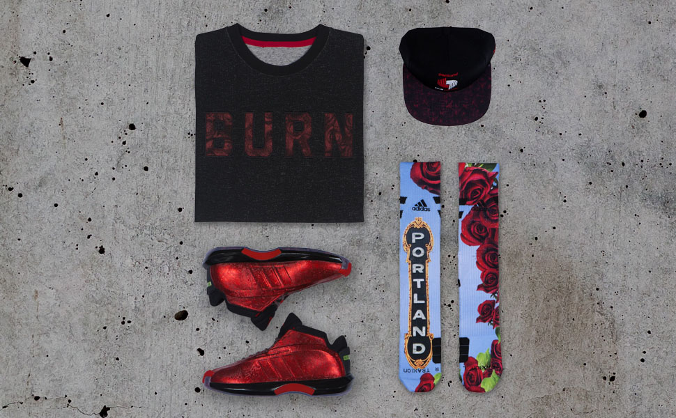 adidas Celebrates Damian Lillard & John Wall with Crazy 1 Florist City Collection (2)
