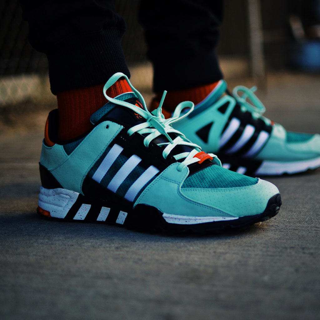 adidas EQT Support RF W Tactile Green/ Tactile Green/ Off White
