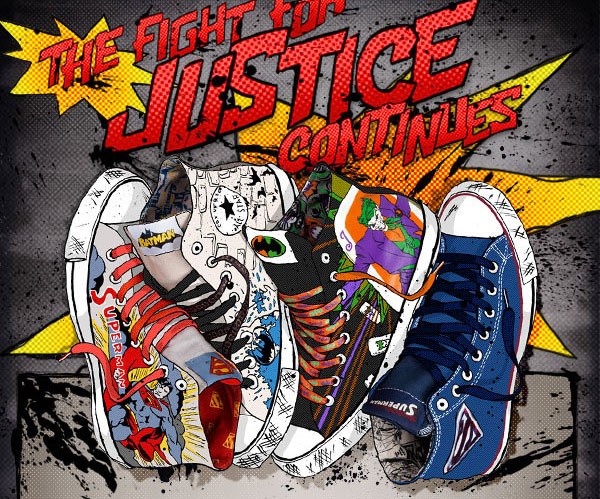DC Comics x Converse Chuck Taylor All Star July 2012