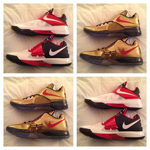 gold kd 4