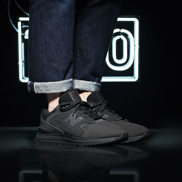 New Balance 1550 Black JD On-Foot