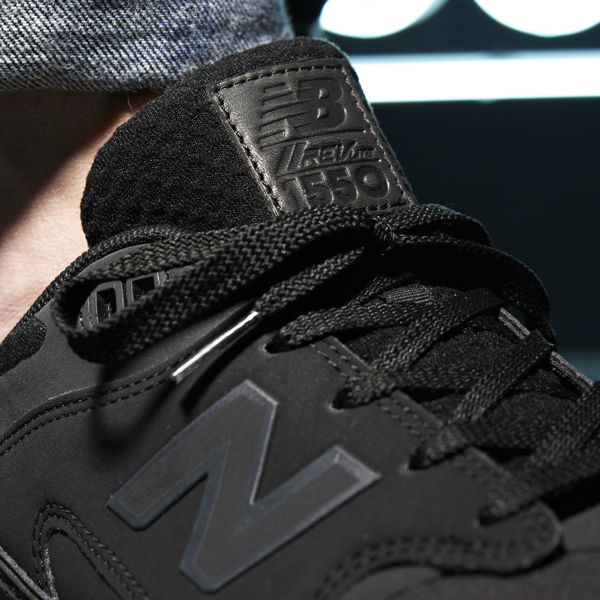 New Balance 1550 Black JD Tongue