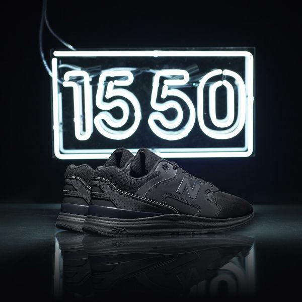 New Balance 1550 Black JD Heel