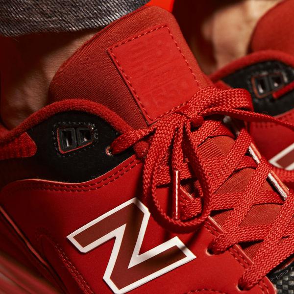 New Balance 1550 Red JD Tongue