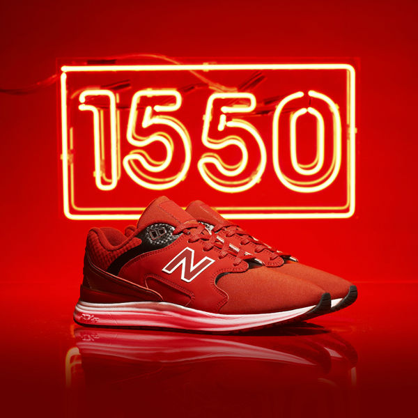 New Balance 1550 Red JD Side Pair