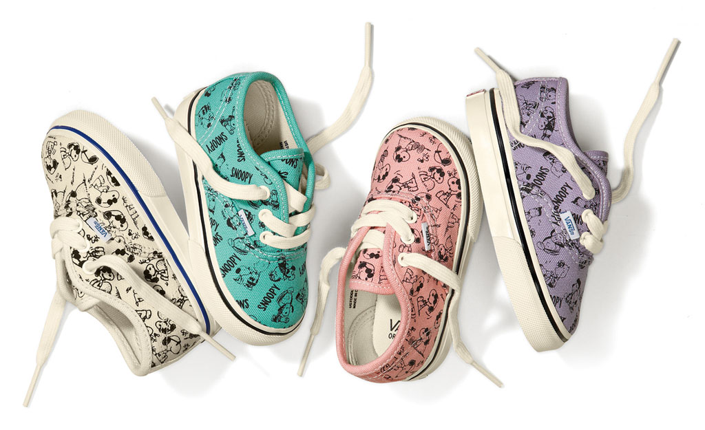 Peanuts x Vans Vault Baby Collection
