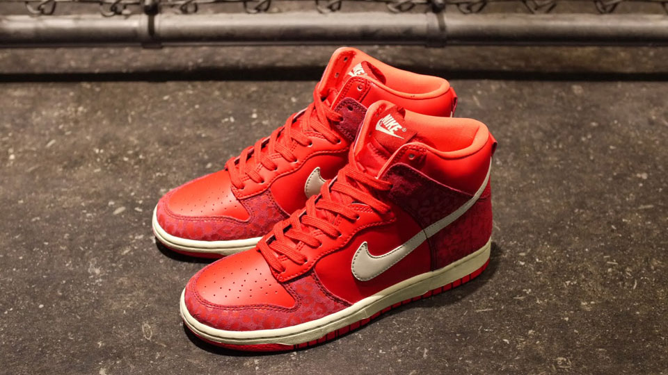 new style 6b4a8 d35b0 Nike Sportswear released two new colorways of the womens Dunk High Skinny  this week, with each sporting a new