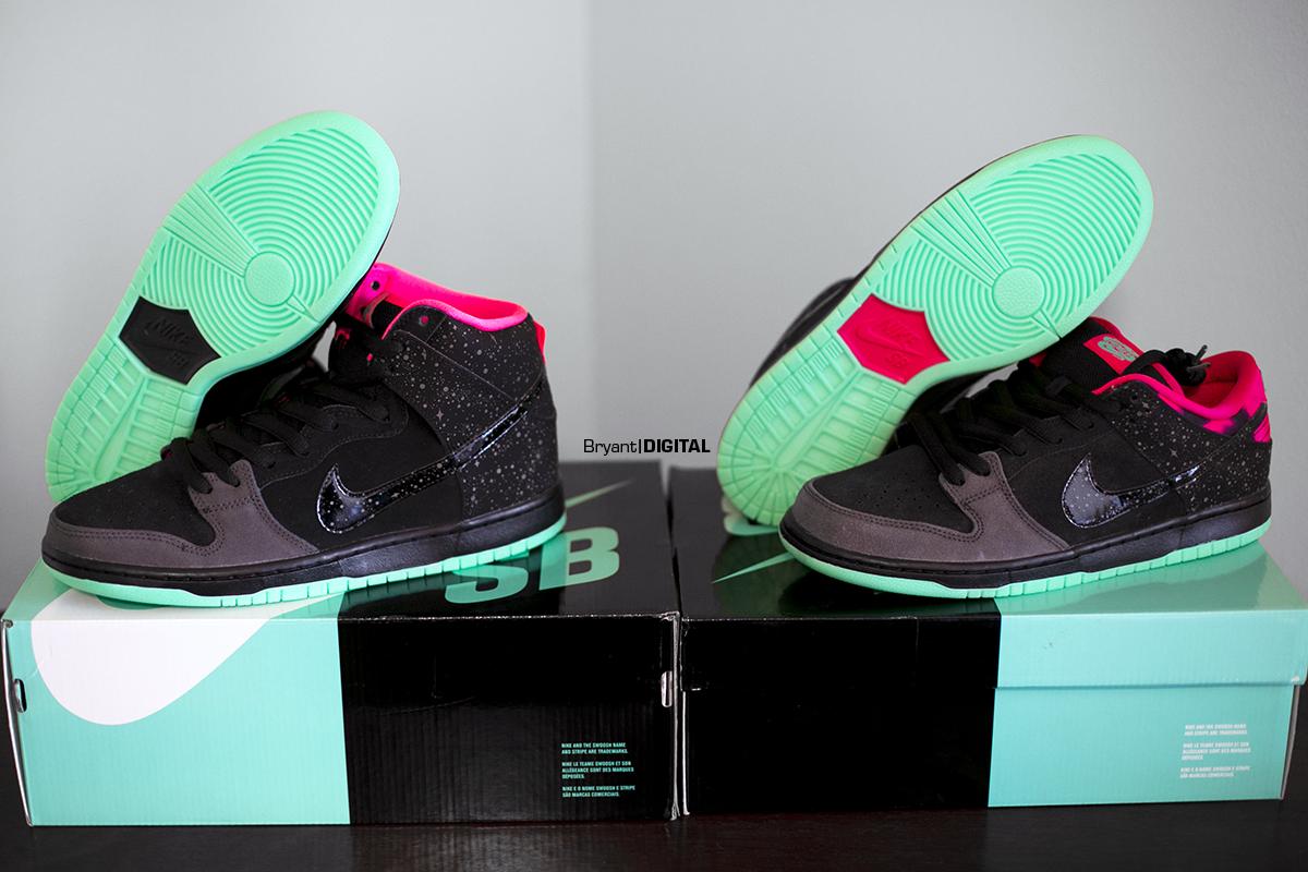 Nike Sb Low Northern Lights